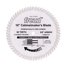 """Freud LU73M010 10"""" Diameter X 60t ATB Cabinetmaker's Cr"""