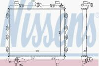 Nissens Radiator 61024 Fit with Chrysler PT Cruiser