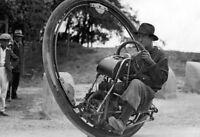 Vintage Motorcycle One Wheel Photo 285 Oddleys Strange & Bizarre