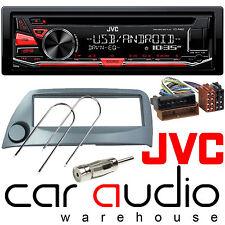 Ford KA 96-08 JVC Car Stereo CD MP3 Radio USB Aux-in Player RE Display BLUE