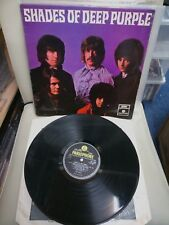 Shades Of Deep Purple UK Y&B Parlophone PMC7055 LP 1st stereo VG Prog/Psych 1968