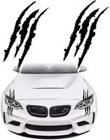 Claw Marks Reflective Sticker Headlight Decal Vinyl Decor for Sport Car 2PCS