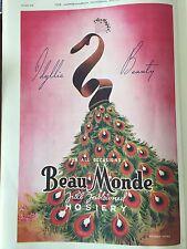 Original 1930s Beau Monde Vintage Australian Print Ad