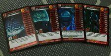 Dragonball Z DBZ TCG Panini Foil Main Personality MP Dr. Wheelo Set Levels 1-4!