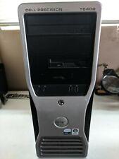 Dell Precision T5400 PC Workstation Desktop 160gb +80gb HHD, 8gb RAM Workhorse