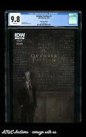 IDW - October Faction #1 (Subscription Edition) - CGC 9.8