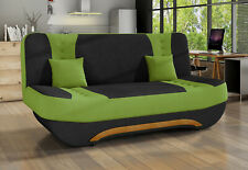 2-Sitzer Klick-Klack Sofa Couch Schlafsofa Bettkasten Farbe wählbar 67687778