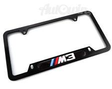 BMW /// M3 License Plates Frames with ///M3 Logo USA Standart 1 pcs NEW