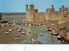 Postcard  Wales Caernarfon Castle unposted PLX28509