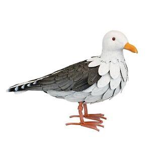 Seagull Bird Metal Home Decoration Figurine 15.75 x 6 x 11 Inch