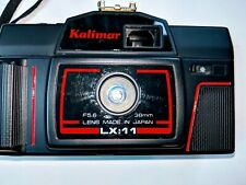 Kalimar New LX:11 Point & Shoot 35mm Film Camera with Case