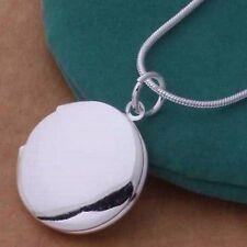 Elegante Collar Gargantilla Colgante Redondo Locket Foto Necklace Para Chica