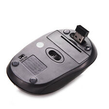 2.4GHz Wireless Optical Mouse + USB 2.0 Receiver For PC Laptop High Quality HU