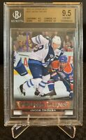 2013-14 UD Series 1 #237 Jacob Trouba Young Guns RC Rookie Cars BGS GEM MINT 9.5