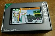 "New! Garmin DriveSmart 71 Ex W/ Traffic 6.95"" Edge to Edge Display Gps Model"
