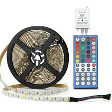 SUPERNIGHT® 5M RGBW 300Leds 5050 SMD IP65 LED Strip Light+44Keys Music IR Remote
