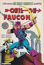 Album Récit Complet Marvel n° 5 – Œil de Faucon– très bon état – 1985