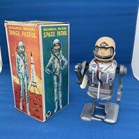 Vintage Toy Robot Space Patrol Japan 1960's in its Original Box Super Rare