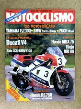 Revista Motociclismo num.888 febrero 1985.Luike Editor