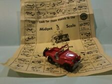 Fun Ho # FH58  JEEP in red no box  with leaflet 60mm long  made in New Zealand