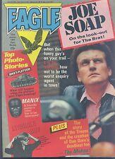 EAGLE weekly British comic book January 22 1983 VG+