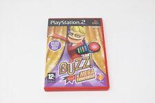 BUZZ ! EL MEGA CONCURSO PS2 PLAY STATION PS 2
