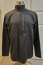 The North Face Grey 3/4 Zip Up Pull Over M Mens Top