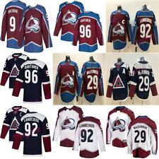 Hockey jersey Colorado Avalanche MacKinnon Landeskog Rantanen Grubauer