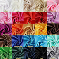 Smooth Satin Fabric High density Linning fabric for Background Evening Gown