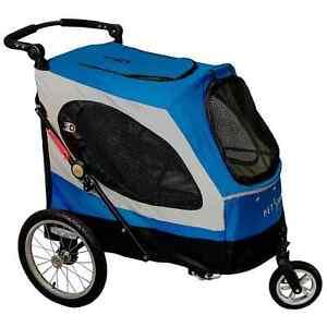 PETSTRO Stroller SKYLINE 701GX-IB Blau | Buggy Wagen Show Ausstellung Poussette
