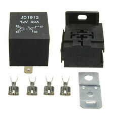 Car Boat Truck Motorcycle 12V 40A 40 AMP Relays & Socket & Base Terminals 4 Pin
