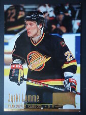 NHL 227 Jyrki Lumme Vancouver Canucks Fleer Ultra 1994/95
