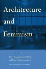 Architecture and Feminism: By Danze, Elizabeth