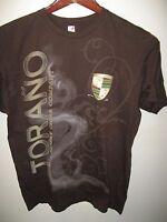 Torano Family Cigar Company Cuba USA Take Time To Burn Smoking Smoker T Shirt Lg