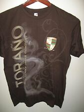 Torano Family Cigar Company Cuba USA Take Time To Burn Smoking Smoker T Shirt Lg