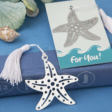 50 Starfish Bookmark Wedding Favor Bridal Showers Favor Beach Theme