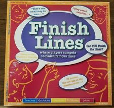 2007 Finish Lines Board Game by Games For All Reasons
