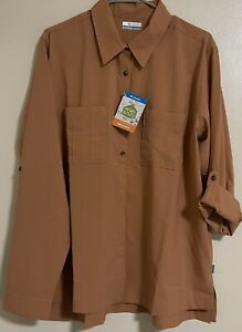 Columbia Essential Elements Woven LS Shirt Size XXL Polyester AL2817-604 $75