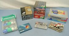 New listing Cassette Tapes, Large Lot, New, Tdk, Memorex, Maxell, Scotch, Basf