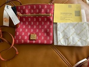 Dooney & Bourke Boston Red Sox League Collection Crossbody red NWT$128. MA