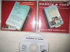 CD Eddie Hardin & Pete York – Still A Few Pages Left  Debbie Bonham