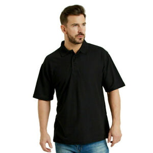 Ultimate Everyday Apparel Work Polo Shirt Top Collar Knit Triple Stitch (UCC003)