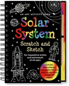 Activity Book - Scratch And Sketch - A5