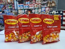 Candy Corn By Sathers USA (3.25oz) X 4 Bags