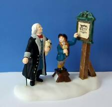 Dept 56 New England Village Hear Ye Citizens! Williamsburg, Colonial