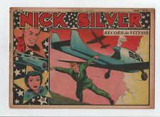COLLECTION VICTOIRE n°115. NICK SILVER. SAGE 1949. RECORD DE VITESSE