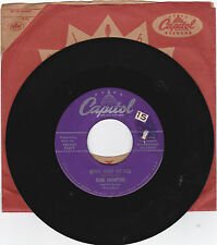 HANK THOMPSON-CAPITOL 3275 COUNTRY BOPPER 45 HONEY, HONEY BEE BALL  VG++