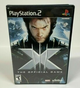 X-Men: The Official Game (Sony PlayStation 2, 2006) PS2 GAME COMPLETE w/MANUAL