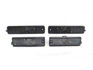 DEPO Smoke Front +Rear Side Marker Light For 1998-2002 Pontiac Firebird Trans Am