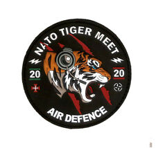 PORTUGUESE AIRFORCE CANCELED NATO TIGER MEET 2020 FIGHTER CONTROLERS  PVC PATCH